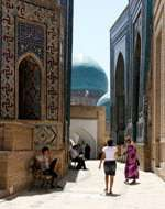 SILK ROAD TOUR TO UZBEKISTAN AND TURKMENISTAN (UZ-TM) Day 10 SAMARKAND (coach)