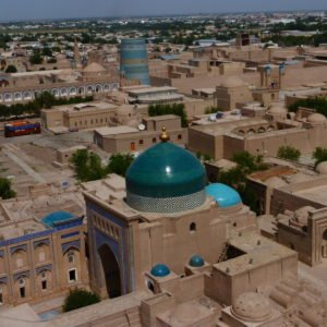 SILK ROAD TOUR TO UZBEKISTAN AND TURKMENISTAN (UZ-TM) Day 2 TASHKENT – URGENCH – KHIVA (flight, coach)