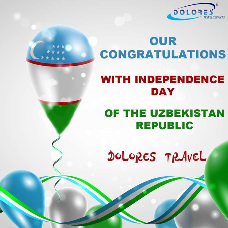CONGRATULATIONS WITH THE 25TH ANNIVERSARY OF UZBEKISTAN'S INDEPENDENCE!