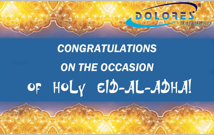 CONGRATULATIONS ON THE OCCASION OF HOLY EID AL ADHA!